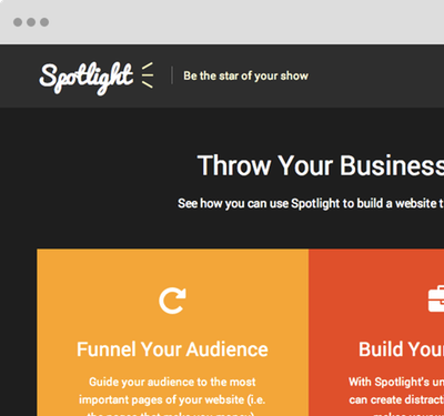 Spotlight WordPress Theme