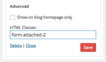 Kolakube Email Forms Widget